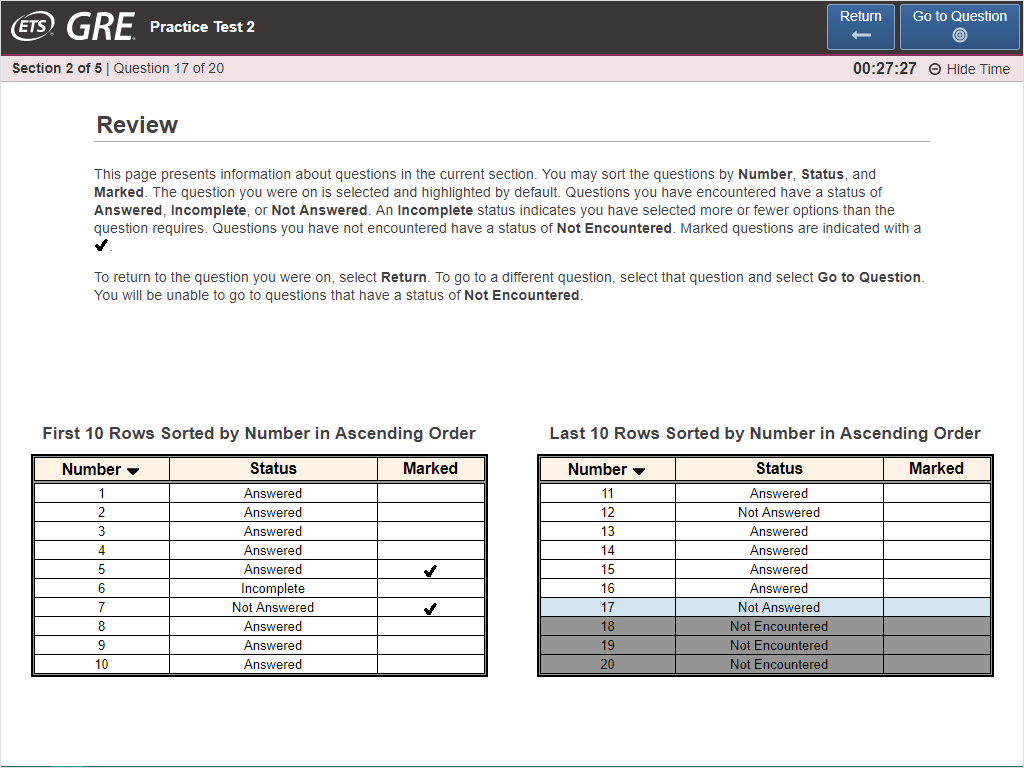 Fig. 2 The 'Review' page from the current interface